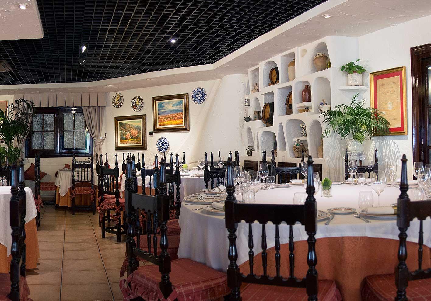 Main Dining Room 05   Hotel Restaurante Terraza Carmona In Vera, Almeria