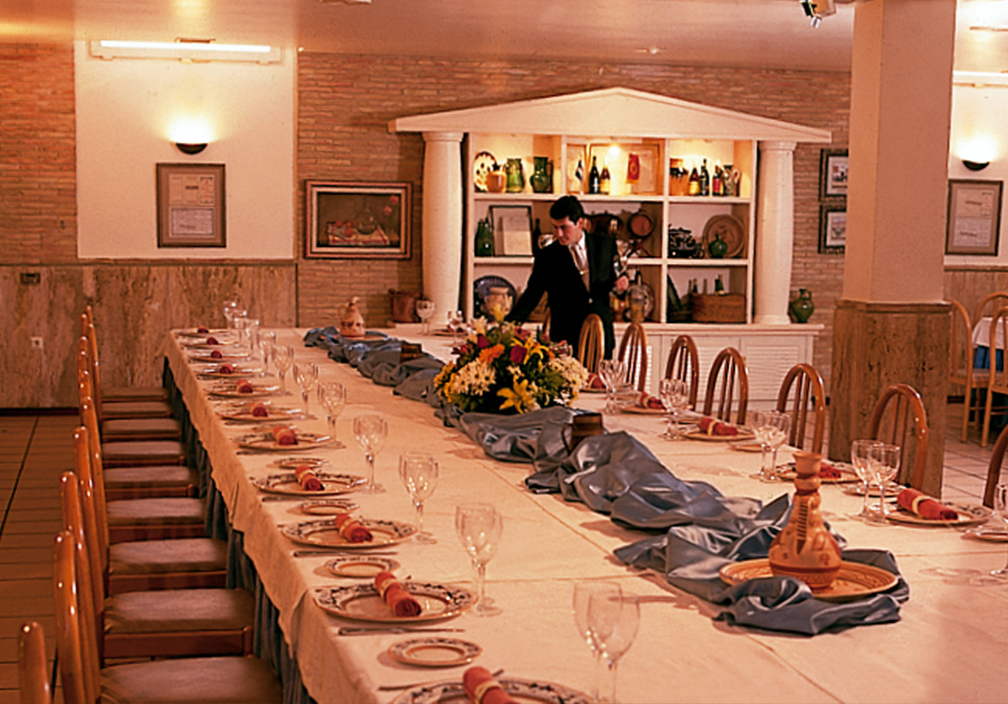 Private Dining Room 06 - Hotel Restaurante Terraza Carmona in Vera, Almeria